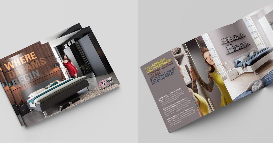 Express Möbel Broschüre