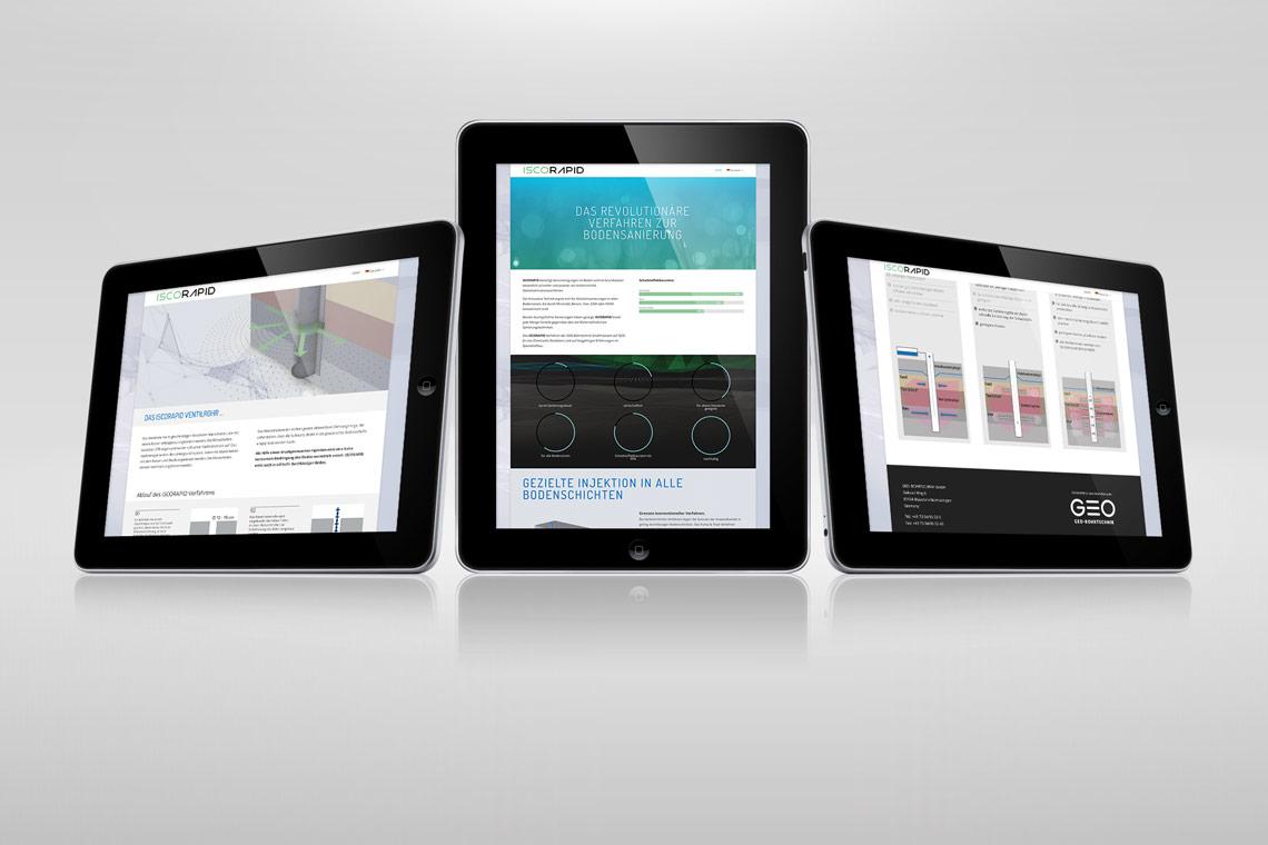 ISCORAPID Website