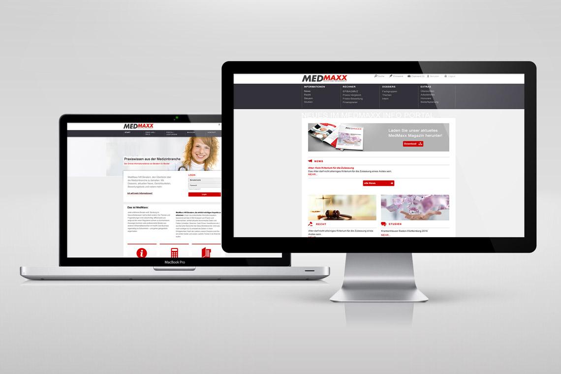 MEDMAXX Website
