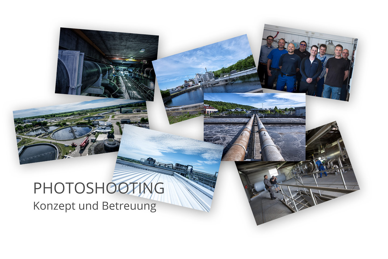 ZVK- Klärwerk Steinhäule Fotoshooting