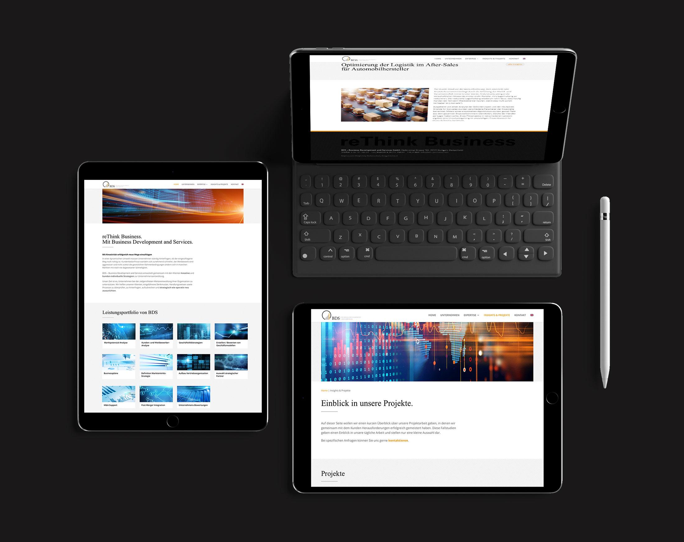 BDS-Business Development Website