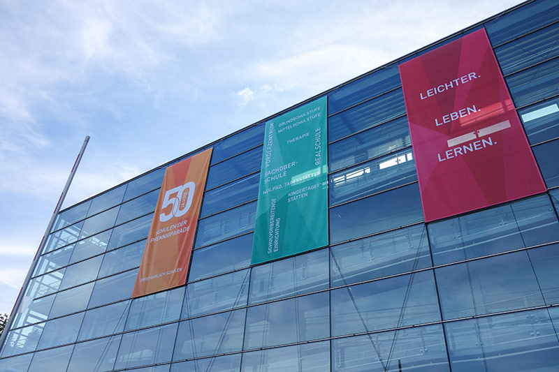 Ernst-Barlach-Schulen Aussenbeschilderung