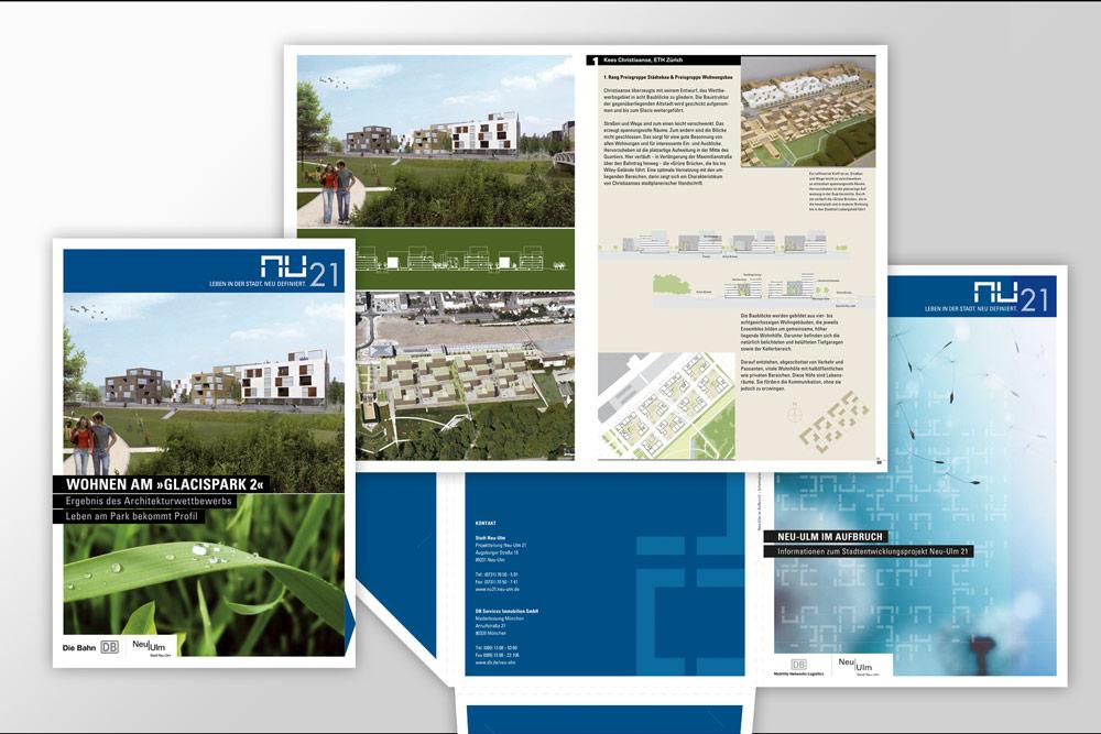 Neu-Ulm 21 Corporate Design