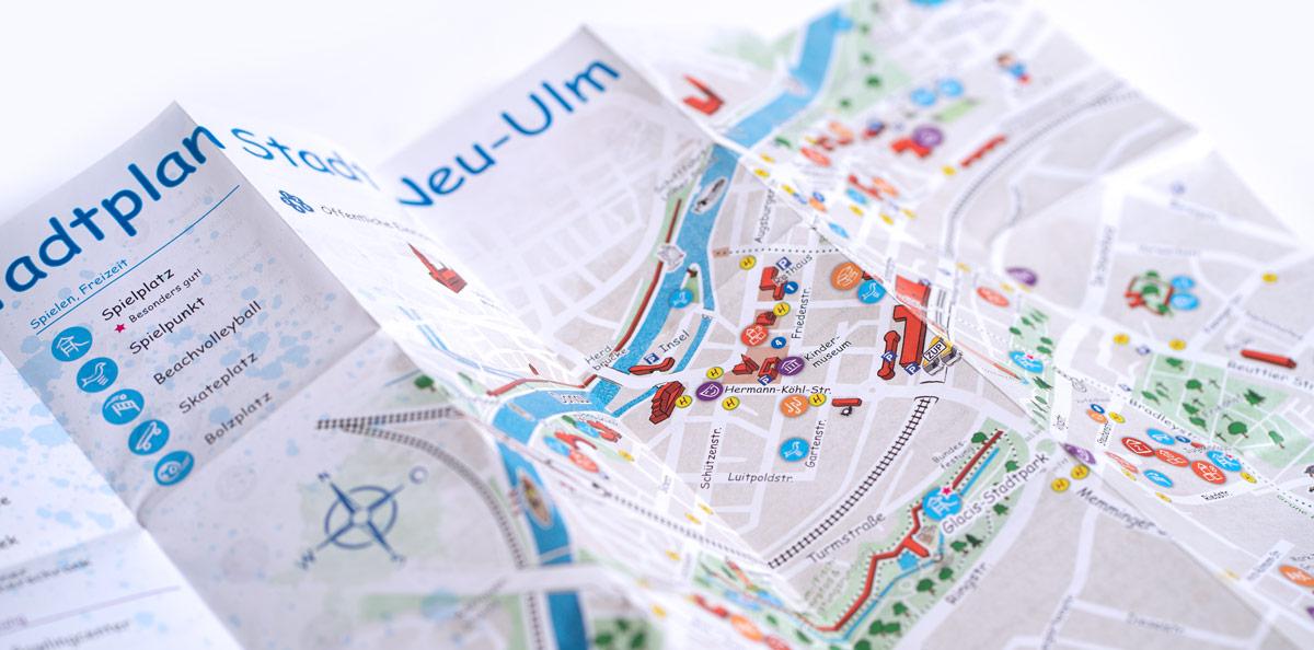 Stadt Neu-Ulm Kinderstadtplan