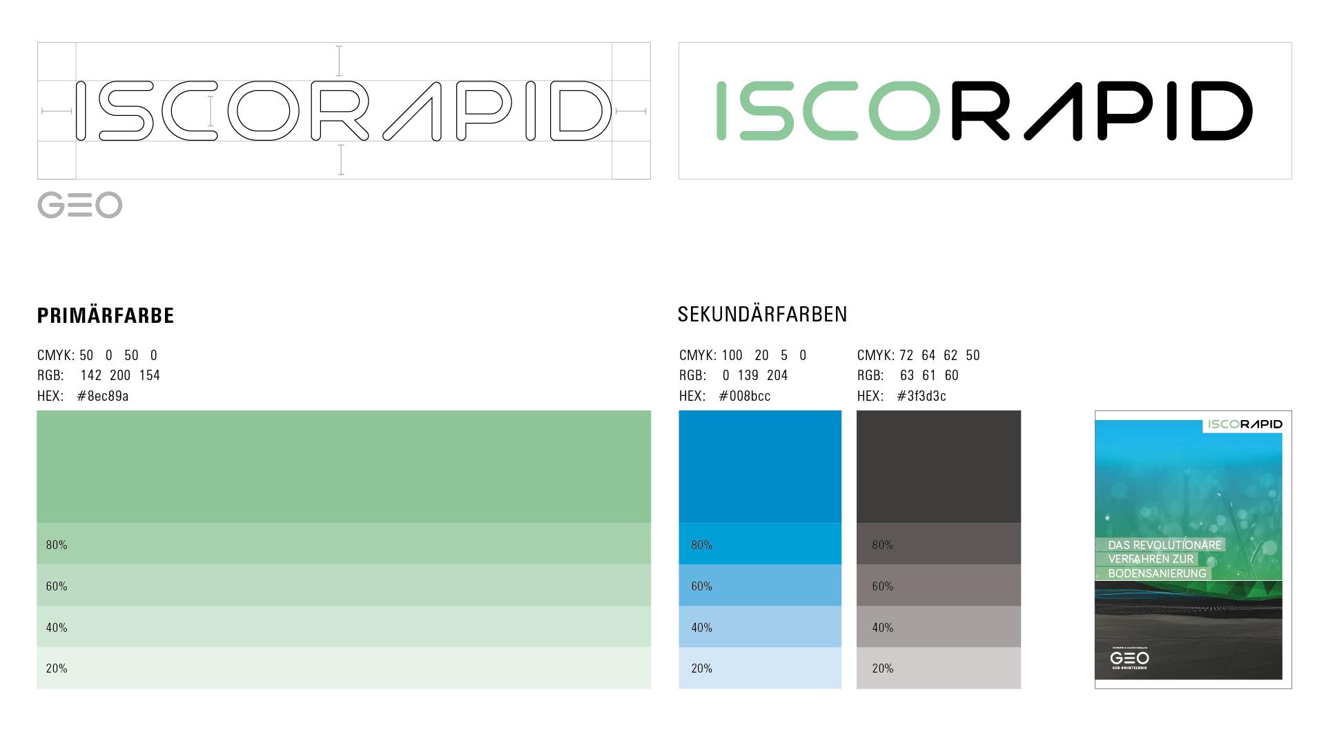 ISCORAPID Corporate Design und Logo